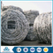 pvc coated sharp shock resistance galvanized barbed wire for security coiled price