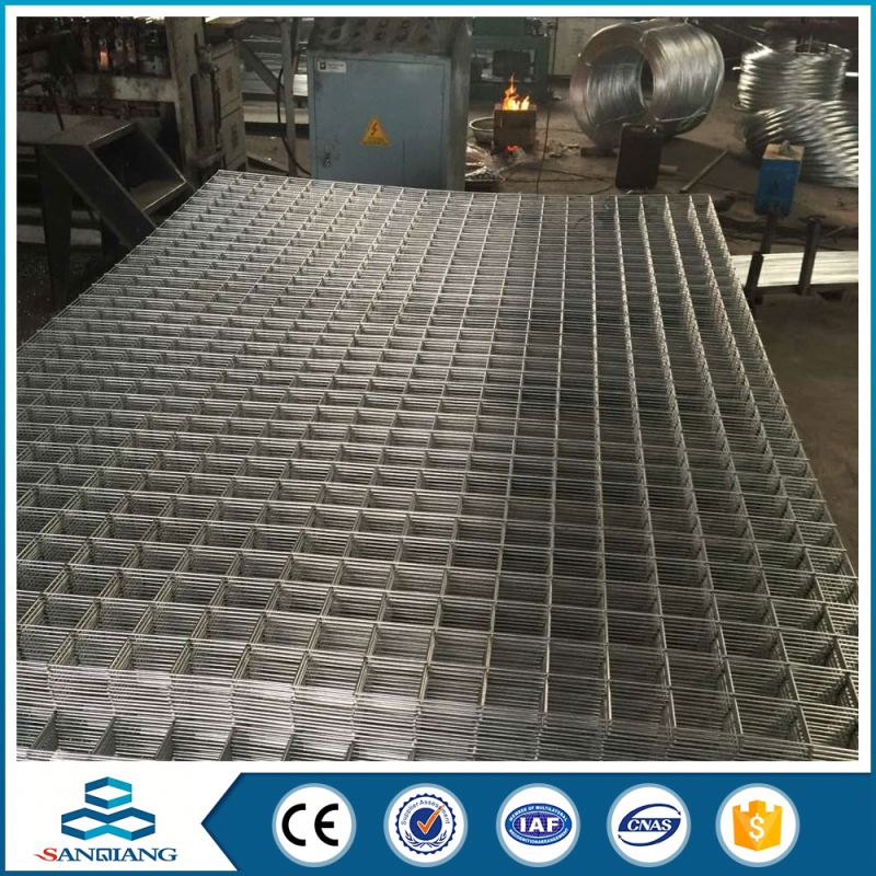 warehouse storage rack electric galvanized welded wire mesh panel