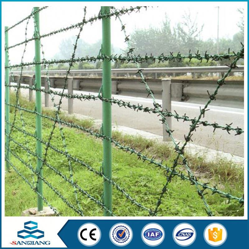 double strands common two point twisted electrical galvanized barbed wire