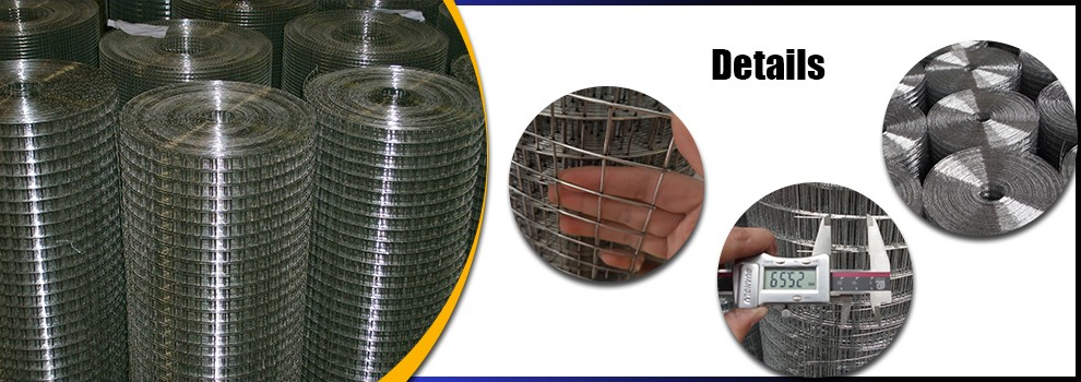 1 inch square hole stainless steel welded wire mesh 10x10