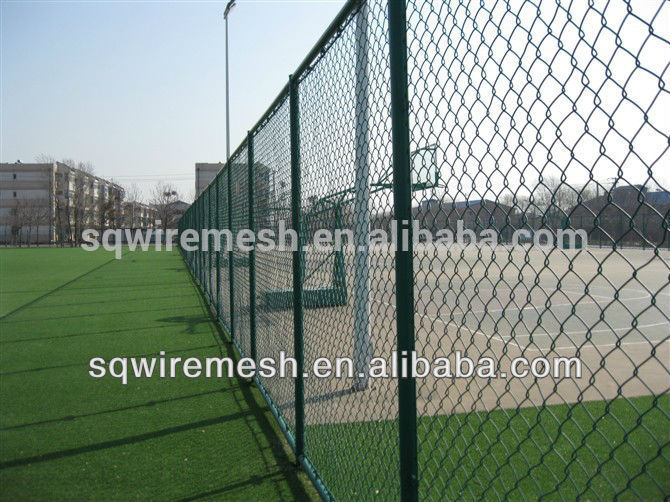 Chain Link Fence/PVC Coated Chain Link Fence/Galvanized Chain Link Fence(manufactory)