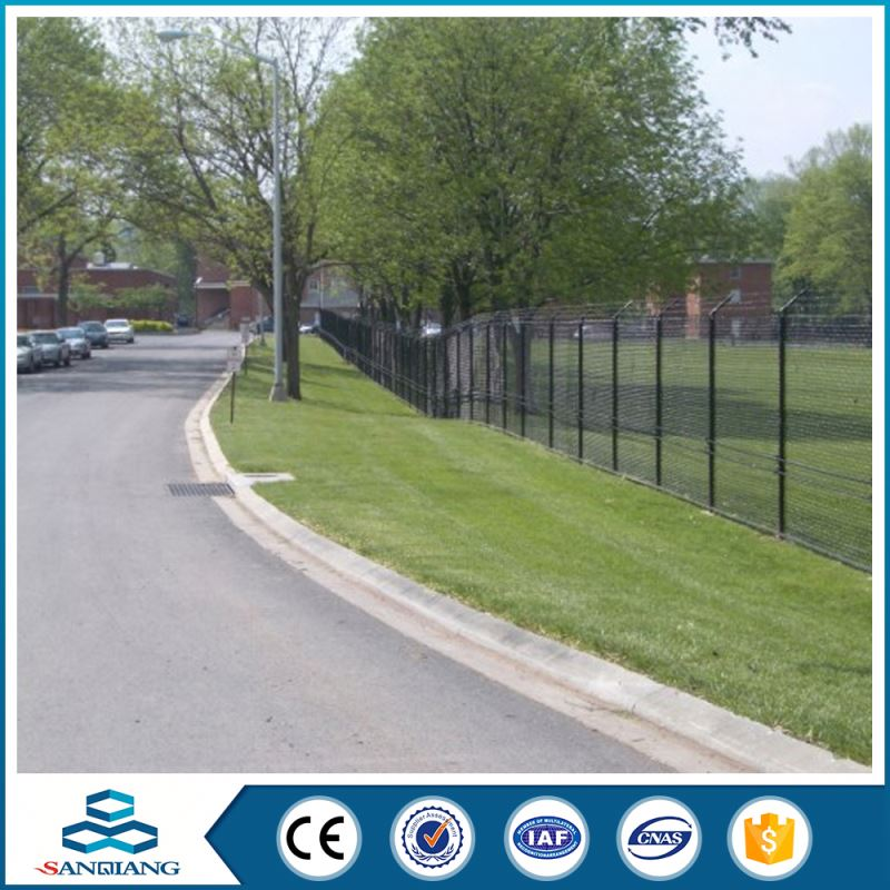 beautiful pvc coated double-lap cheap factory price triangle bend fence for sale