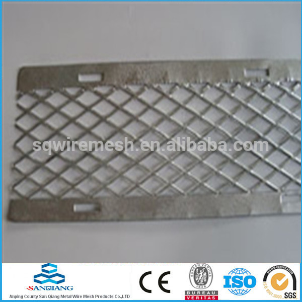 ISO 9001PVC coated expanded metal mesh