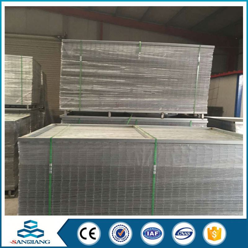 2x2 galvanized 6x6 reinforcing welded wire mesh panels factory