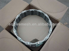 Sanaqiang rozor barbed wire factory manufacture(gold)