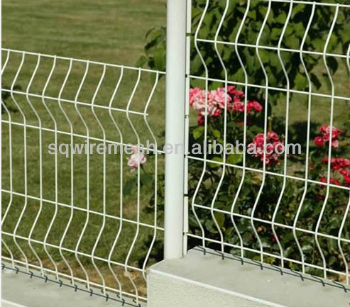 Anping factory Triangular bending wrie mesh fence