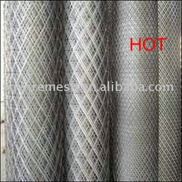 Expanded Aluminum Metal with Flattended Type (Factory)