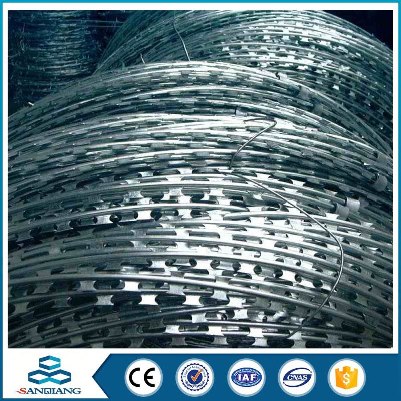low price All Kinds of concertina razor blade barbed wire