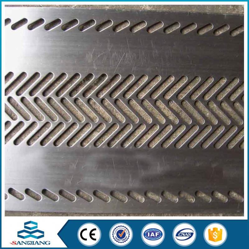 diamond pe coated beautifully decorated plate perforated metal mesh