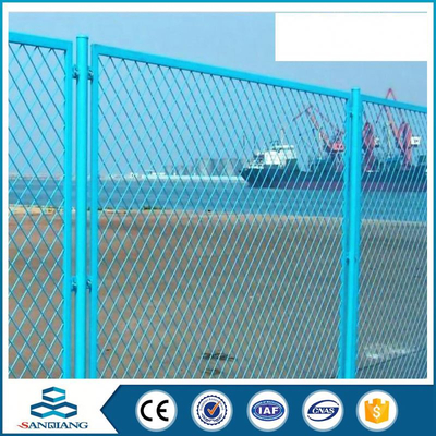 factory direct sale galvanized field galvanized chain link fence fittings posts