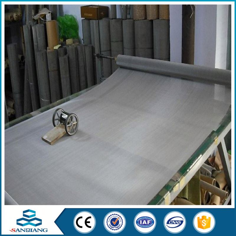 Golden Supplier Competitive Price 35*150 micron stainless steel filter wire aviary mesh