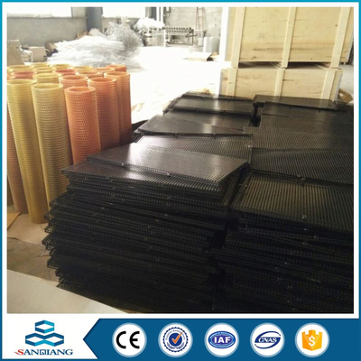 aluminum expanded metal grid mesh size