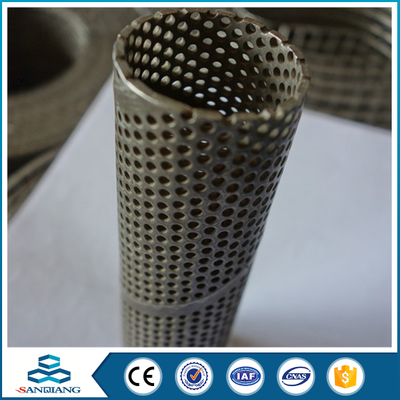 Best Price Galvanized Decorative Perforated Metal screen door mesh