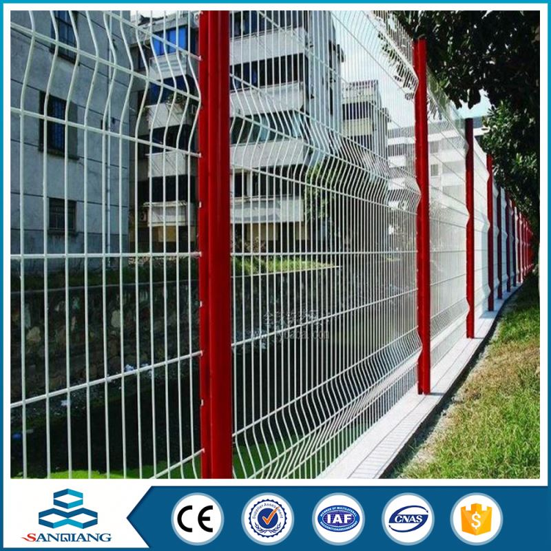 competitive price for 358 galvanized 3d curved chain link fence