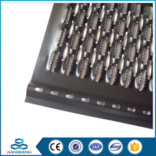 best sell star hole perforated sheet metal mesh for electronics