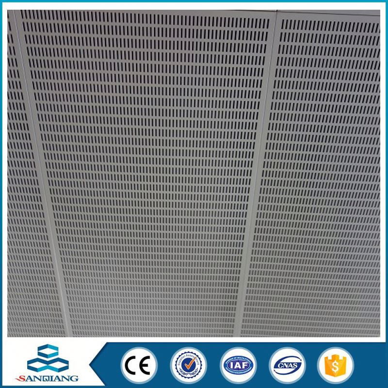 1.6mm thick al perforated sheet metal mesh for filtration